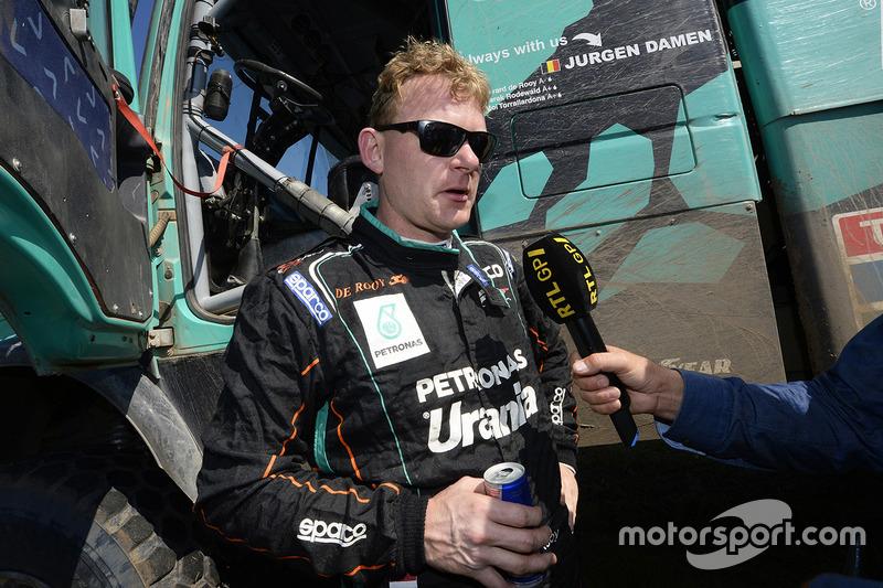 Gerard de Rooy: winnaar trucks Dakar Rally