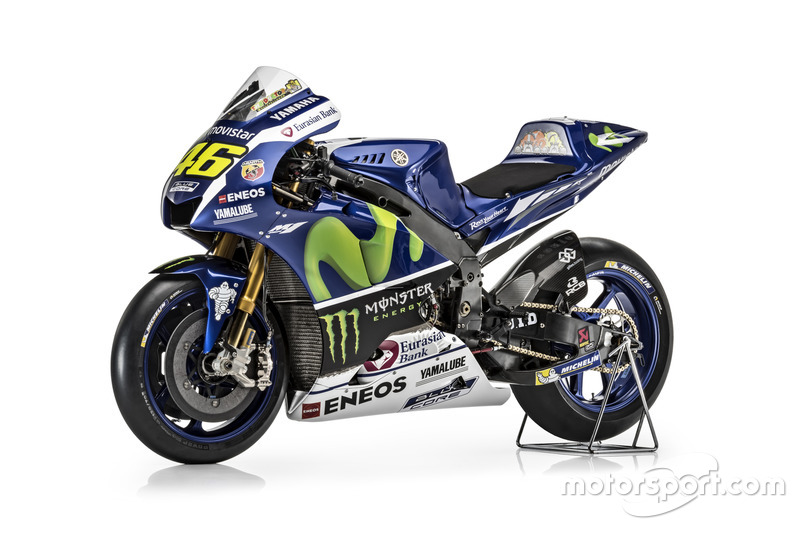 New Yamaha YZR-M1 for Valentino Rossi, Yamaha Factory Racing