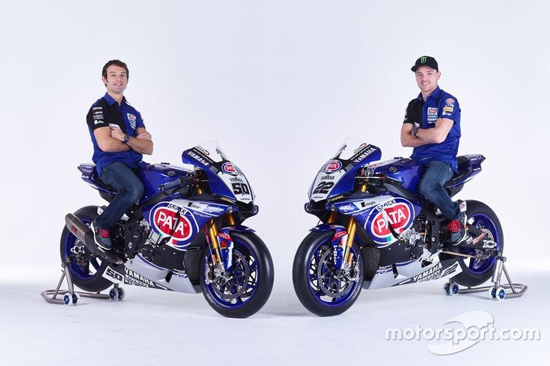 Sylvain Guintoli und Alex Lowes, Yamaha YZF-R1, Pata Yamaha