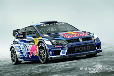 Volkswagen Motorsport Polo WRC livery onthulling