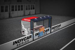 Сонячні панелі набоксах  IndyCar