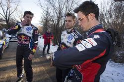 Anders Jäger, Andreas Mikkelsen, Volkswagen Motorsport, Thierry Neuville, Hyundai Motorsport