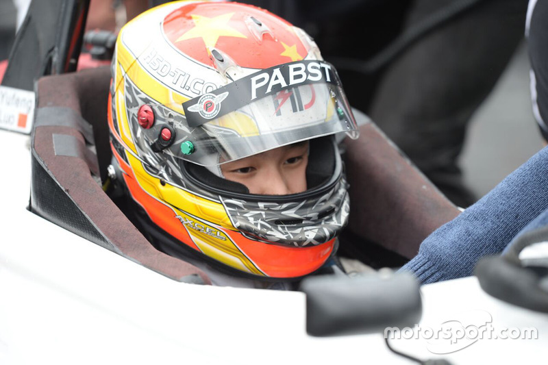 Yufeng Luo Pabst Racing announcement