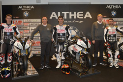 Markus Reiterberger, Jordi Torres and Raffaele De Rosa, Althea Racing