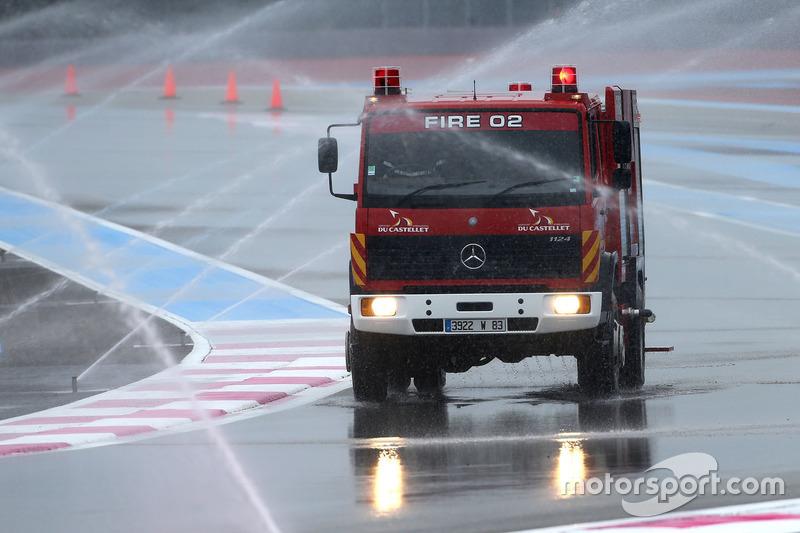 Caminhãode emergências em Paul Ricard