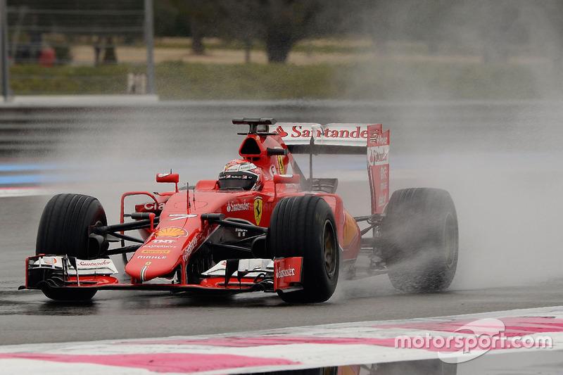 A volta mais rápida de Kimi Raikkonen foi de 1min09s637