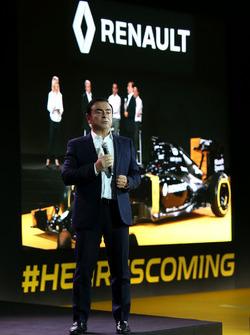 Карлос Гон, президент Renault