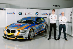 Rob Collard y Sam Tordoff, West Surrey Racing BMW 125i Msport