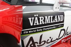 Detail vom Citroën DS3 WRC