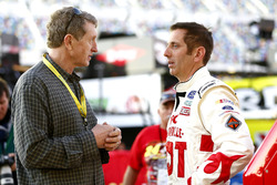 Bill Elliott and Greg Biffle, Roush Fenway Racing Ford