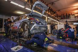 Team area Hyundai Motorsport