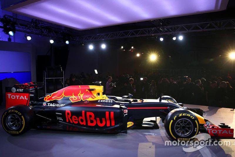 Presentación Red Bull Racing RB12