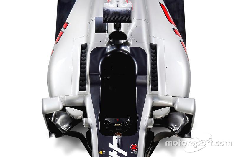 Haas VF-16, dettaglio