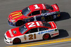 Раян Блейні, Wood Brothers Racing Ford, Джеймі МакМаррі, Chip Ganassi Racing Chevrolet