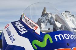 Detalle de los 2016 Yamaha YZR-M1 de Jorge Lorenzo, Yamaha Factory Racing