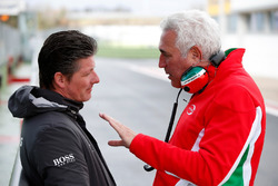 Lawrence Stroll, father of Lance Stroll, Prema Powerteam, Dallara F312 Mercedes-Benz