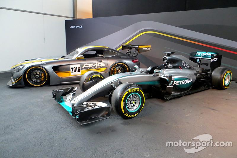 Mercedes AMG F1 y GT3