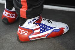 Shoes of Graham Rahal, Rahal Letterman Lanigan Racing Honda