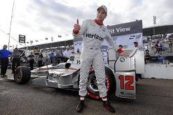 Polezitter Will Power, Team Penske Chevrolet