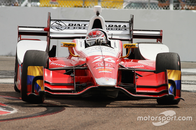 #26: Carlos Munoz (Andretti-Honda)