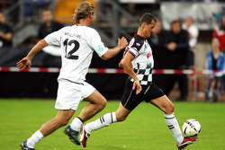 Nazionali Piloti vs. VIP football match: Michael Schumacher, Test Driver, Scuderia Ferrari