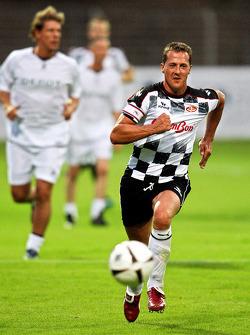Nazionali Piloti vs. VIP football match: Michael Schumacher, Test Driver, Scuderia Ferrari