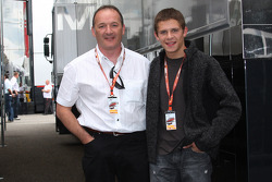Stefan Bradl, MotoGP 125cc Championship with his father