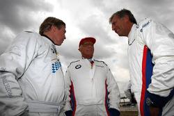 Leopold von Bayern, Niki Lauda ve Christian Danner