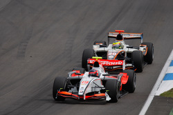 Marko Asmer leads Mike Conway