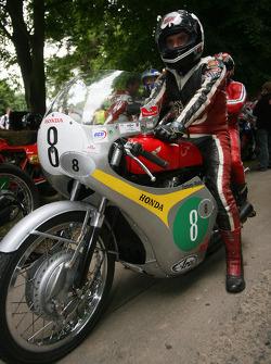 Tommy Robb, 1962 Honda RC163