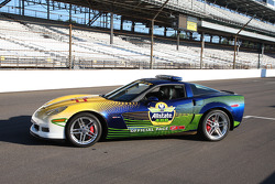 The Corvette Z06 Pace Car for the 2008 Allstate 400 at the Brickyard