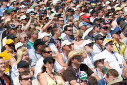 Edmonton fans ready for the race