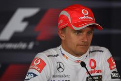 Press conference: race winner Heikki Kovalainen