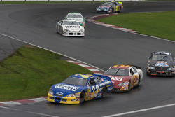 Ron Hornaday, Clint Bowyer and Brian Simo