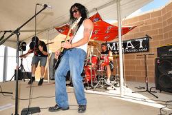 Live music at Miller Motorsports Park