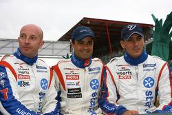 Vincent Vosse, Pedro Lamy and Steve Zacchia