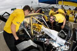 Alexa Motorsports crew members at work