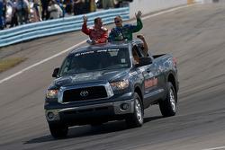 Drivers intro: Marcos Ambrose and Jeff Burton