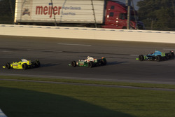 Ed Carpenter, Tony Kanaan and Ryan Hunter-Reay