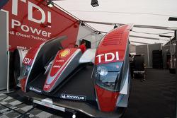 Detail of the Audi Sport North America R10 TDI