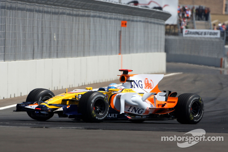 Gran Premio de Europa en Valencia en 2008