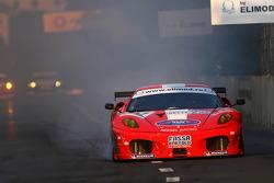 #57 Kessel Racing Ferrari 430: Henri Moser, Fabrizio Del Monte