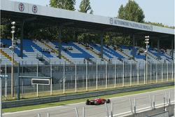 Felipe Massa, Scuderia Ferrari, F2008, Grandstands