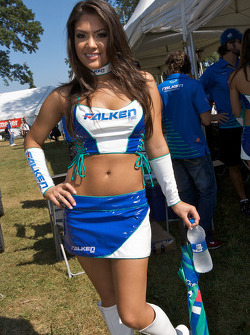 A lovely Falken Tire girl