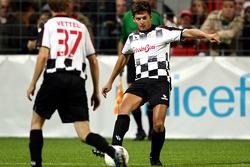 Charity Football Match, Nazionali Piloti vs All Stars Team: Giancarlo Fisichella, Force India F1 Team