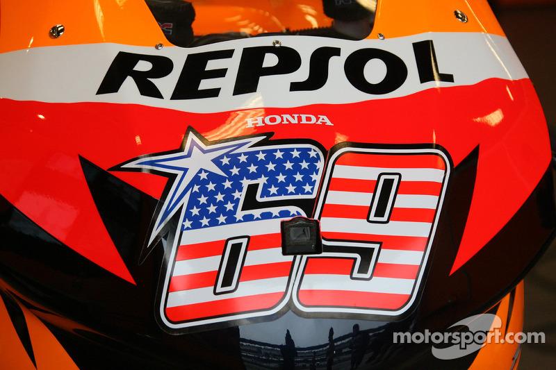 Detalle de Nicky Hayden Honda