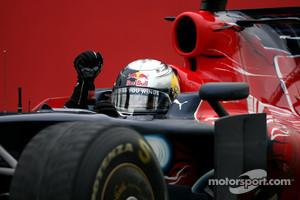 Sebastian Vettel won his first race in 2008 for Toro Rosso