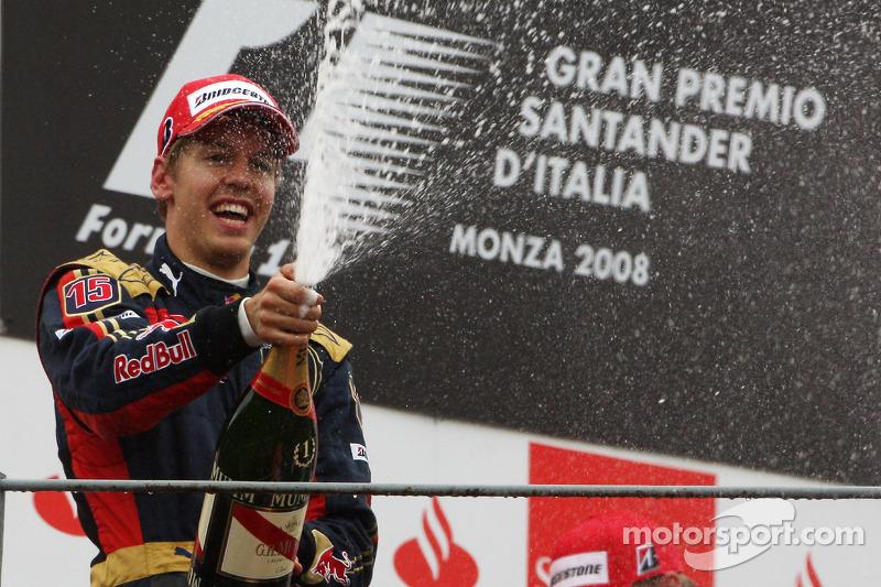 2008 - Grand Prix von Italien: Sebastian Vettel, Scuderia Toro Rosso STR3