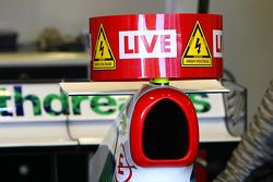 Honda Racing F1 Team, Running KERS on their car in Jerez