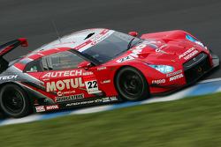 #22 Motul Autech GT-R: Michael Krumm, Masataka Yanagida